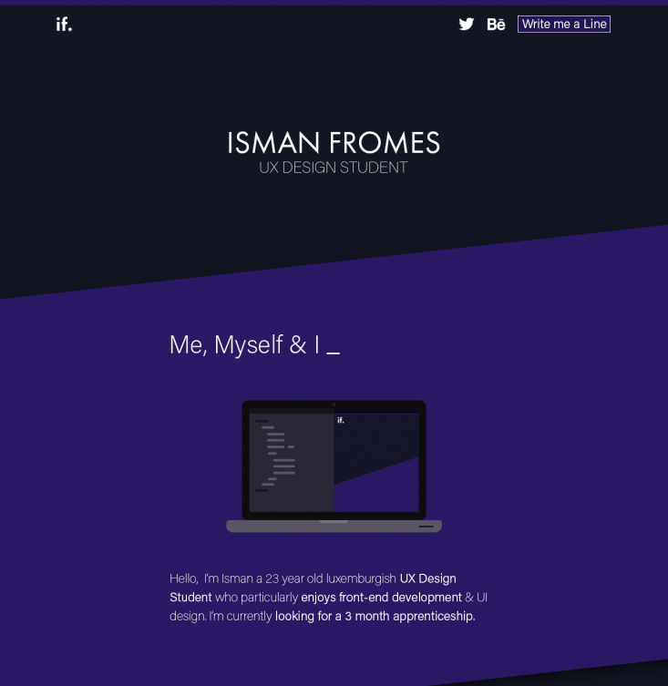 ismanfromes.be - Preview